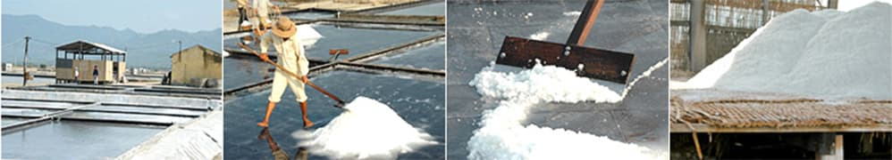 カンホアの塩の最後の(収穫する)のイメージ